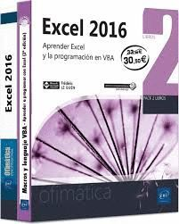 PACK OFIMÁTICA EXCEL 2016 (2 VOLS.)