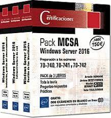 PACK MCSA WINDOWS SERVER 2016 (3 VOLS.)