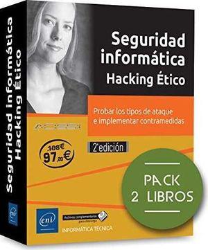 PACK. SEGURIDAD INFORMÁTICA-HACKING ÉTICO