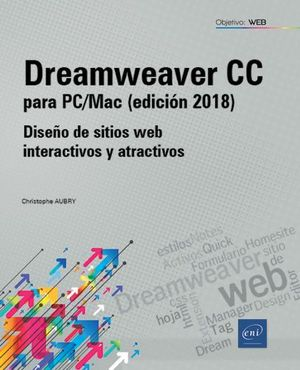 DREAMWEAVER CC PARA PC/MAC 2018 DISEÑO DE SITIO WEB INTERAC