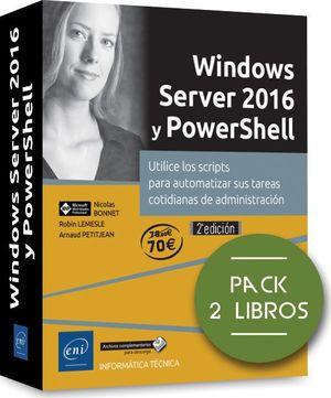 WINDOWS SERVER 2016 Y POWERSHELL ( PACK DE 2 LIBROS )