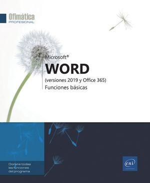 WORD - FUNCIONES BÁSICAS