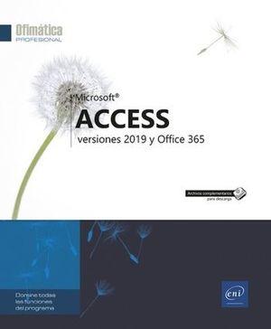 ACCESS - VERSIONES 2019 Y OFFICE 365