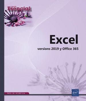 EXCEL - VERSIONES 2019 Y OFFICE 365