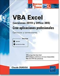 VBA EXCEL (VERSIÓNES 2019 Y OFFICE 365)