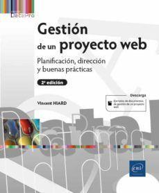 GESTIÓN DE UN PROYECTO WEB