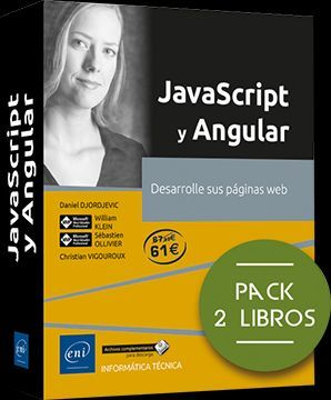 JAVASCRIPT Y ANGULAR (PACK 2 LIBROS)