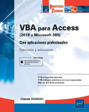 VBA PARA ACCESS (2019 Y OFFICE 365)