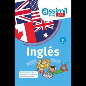 INGLES + 11 AÑOS - METODO DE INMERSIÓN AUDITIVA PARA PREADOLESCENTES
