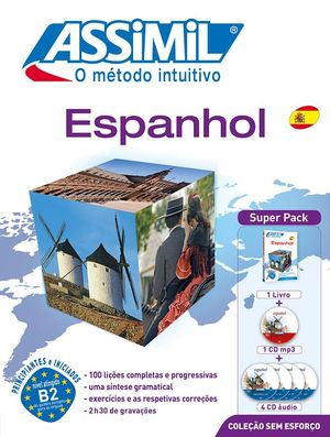 ESPANHOL SEM ESFORÇO ( LIVRO + CD4 + CDMP3 )  SUPER PACK