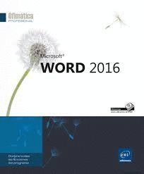 OFIMATICA PROFESSIONAL. WORD 2016