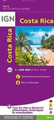 COSTA RICA 1:500.000 -IGN