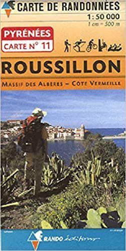 ROUSILLON. MAPA RANDO 1:50.000