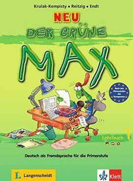 NEU DER GRÜNE MAX LEHRBUCH 1