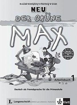 DER GRÜNE MAX 1 NEU  LIBRO DE EJERCICIOS 1 CON CD DE AUDIO