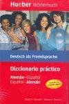 DICCIONARIO PRÁCTICO ALEMAN-ESPAÑOL / ESPAÑOL-ALEMAN HUEBER