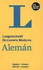 DICCIONARIO MODERNO ALEMAN