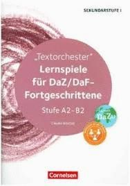 LERNSPIELE FUR DAZ / DAF - FORTGESCHRITTENE. STUFE A2 - B2. JUEGOS DE CLASE