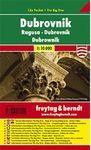 MAPA DE DUBROVNIK, RAGUSA, DUBROWNIK - CITY POCKET + THE BIG FIVE