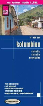 COLOMBIA - KOLUMBIEN (1:1400000)