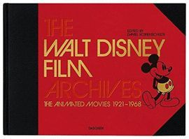 THE WALT DISNEY FILM ARCHIVES. THE ANIMATED MOVIES 1921-1968. INGLES. CON CUADER