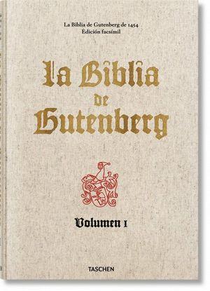 BIBLIA DE GUTENBERG DE 1454, LA (2 VOLS.)