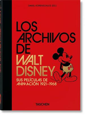 ARCHIVOS DE WALT DISNEY: SUS PELÍCULAS DE ANIMACIÓN 1921-1968