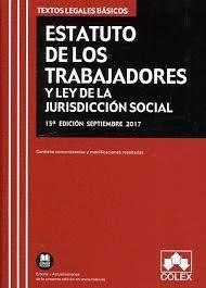 ESTATUTO DE LOS TRABAJADORES Y LEY DE LA JURISDICCION SOCIAL