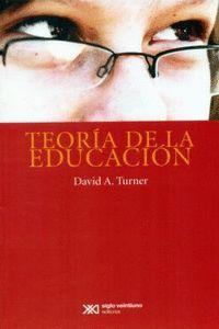 TEORÍA DE LA EDUCACIÓN