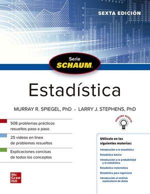 SCHAUM ESTADISTICA (6ª ED.)