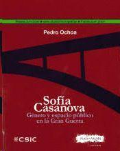 SOFÍA CASANOVA: GÉNERO Y ESPACIO PÚBLICO EN LA GRAN GUERRA