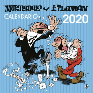 CALENDARIO 2020 MORTADELO Y FILEMÓN DE PARED