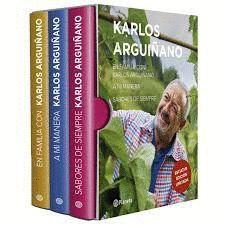 ESTUCHE KARLOS ARGUIÑANO (3 VOLUMENES)