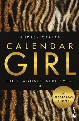 CALENDAR GIRL 3  (CASTELLANO)
