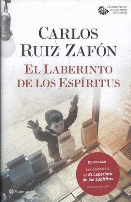 LABERINTO DE LOS ESPIRITUS, EL (PACK TC)