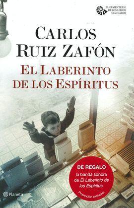 LABERINTO DE LOS ESPÍRITUS, EL  + MÚSICA (PACK TC )