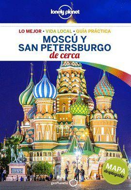 MOSCÚ Y SAN PETERSBURGO DE CERCA, GUIA LONELY PLANET