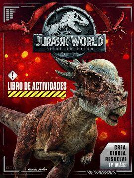 JURASSIC WORLD. LIBRO DE ACTIVIDADES