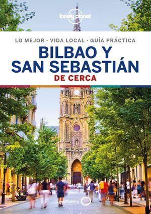 BILBAO Y SAN SEBASTIAN DE CERCA, GUIA LONELY PLANET