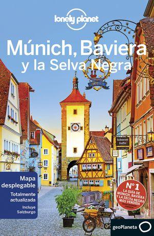 MÚNICH, BAVIERA Y LA SELVA NEGRA, GUIA LONELY PLANET