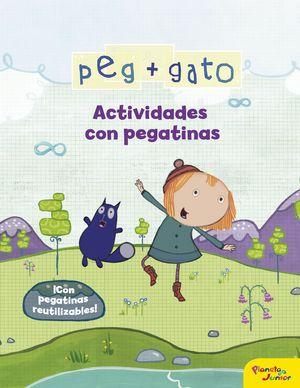 PEG + GATO - ACTIVIDADES CON PEGATINAS