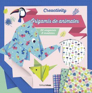 CREACTIVITY - ORIGAMIS DE ANIMALES