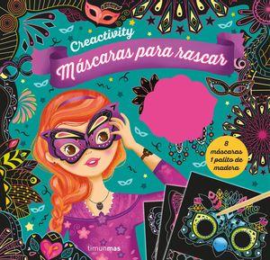 CREACTIVITY - MÁSCARAS PARA RASCAR