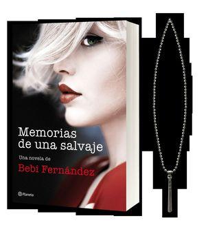 MEMORIAS DE UNA SALVAJE (PACK NAVIDAD 2019+ COLGANTE)