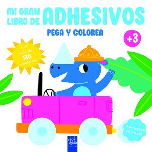 ANIMALES SALVAJES - MI GRAN LIBRO DE ADHESIVOS