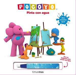 POCOYÓ - PINTA CON AGUA