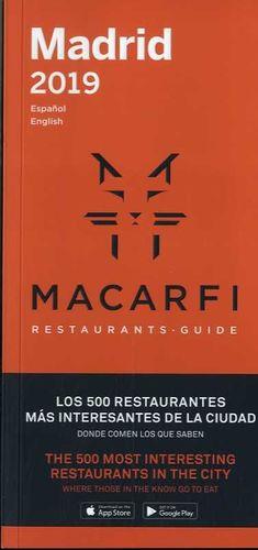 GUÍA MACARFI DE RESTAURANTES DE BARCELONA Y MADRID