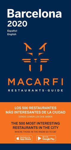 GUÍA MACARFI DE RESTAURANTES DE BARCELONA Y MADRID 2020