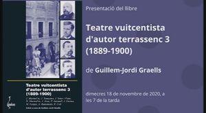 TEATRE VUITCENTISTA D'AUTOR TERRASSENC 3 (1889-1900)