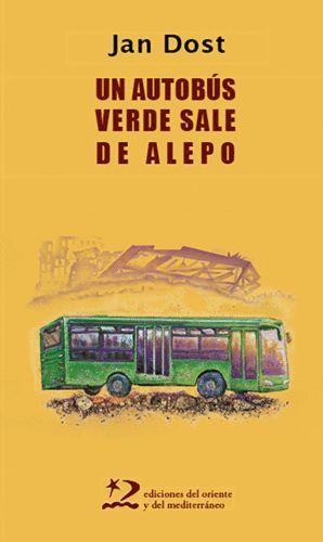 AUTOBÚS VERDE SALE DE ALEPO, UN